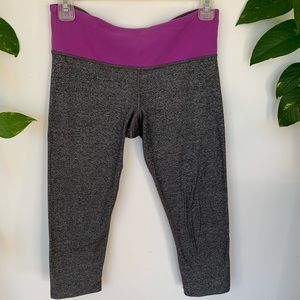 Lululemon mid rise reversible leggings!
